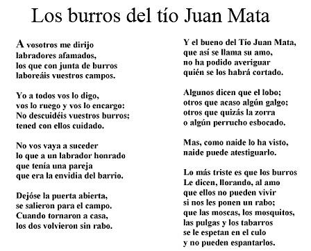 Los burros del tío Juan Mata
