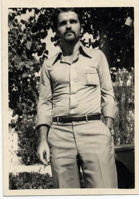 Mariano Estrada, foto años 70, en Granada