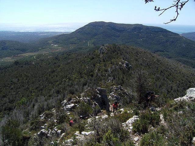 Ruta a mont redon mayo 2010