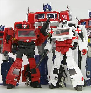 ratchet y ironhide