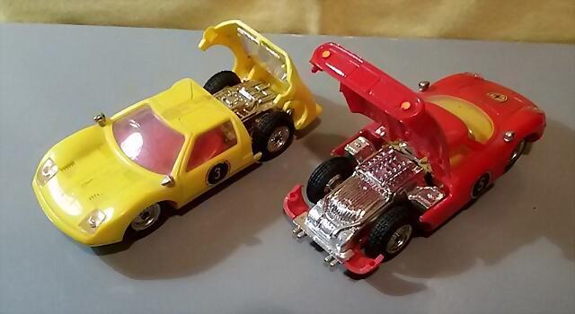 Policar Ford GT & Ferrari 250 (3)