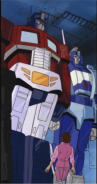 Optimus y Blurr