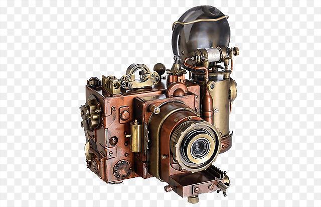 kisspng-steampunk-antique-cameras-photography-punk-fest-5b2f011b9af193.3010520215298071316347