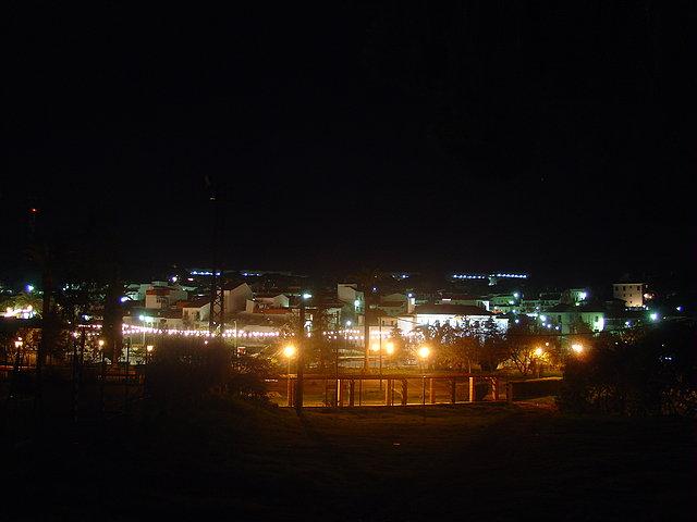 Riotinto de noche