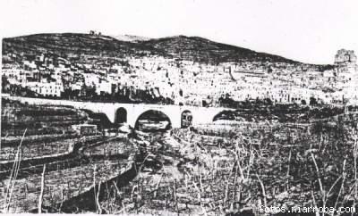 Vista Gérgal principios Siglo XX