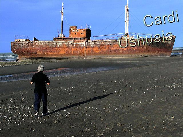 Desd�mona en Cabo San Pablo, Tierra del Fuego