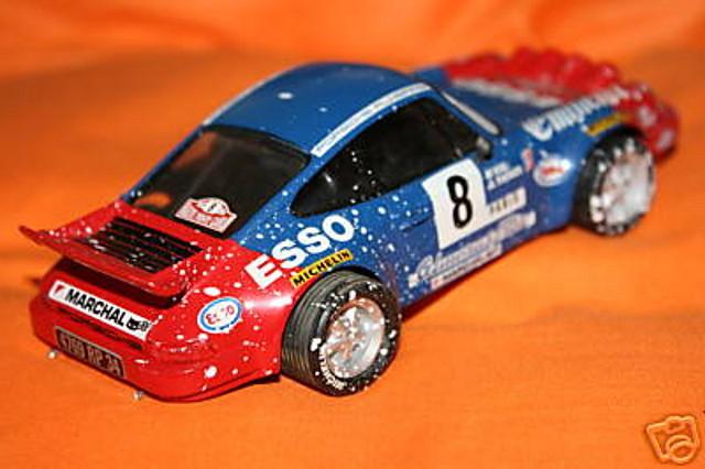 SCX PORSCHE 911 RALLY MONTECARLO 1982 REGALO SUSCRIPCION ALTAYA 2003 3
