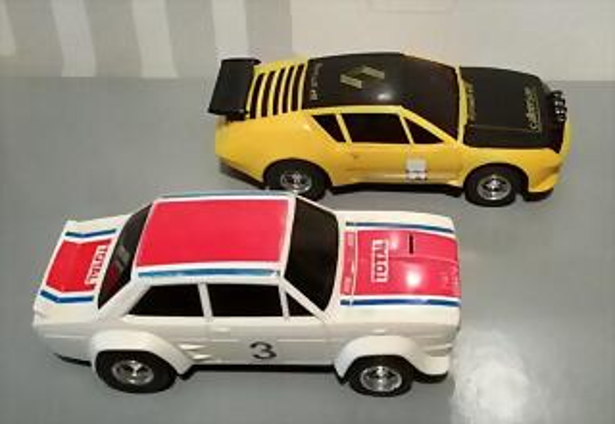 SCX F Fiat 132 & Alpine 310 (2)