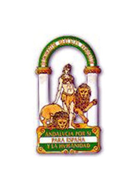 Escudo de Andalucia.