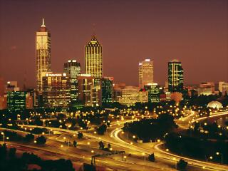 View from Kings Park, Perth, Australia