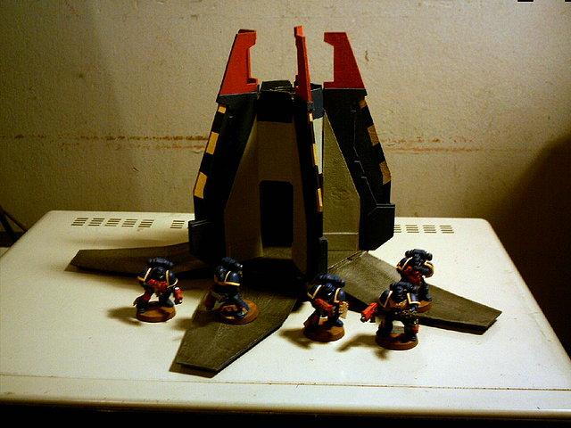 Cap. Desembarco + 5 Ultramarines def. VGA