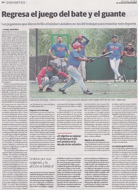 2011.08.03 Seniors y béisbol en Cantabria DM