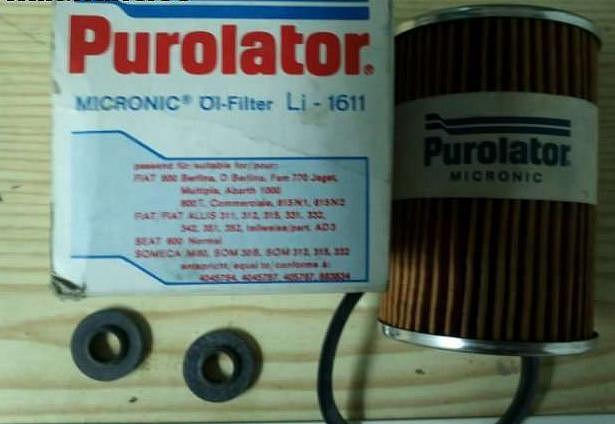 filtro aceite 600 n