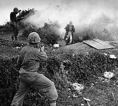 Okinawa japones rindiendose