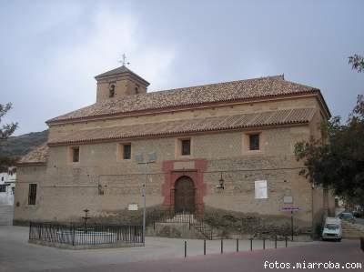 Iglesia Gérgal  desde La Glorieta