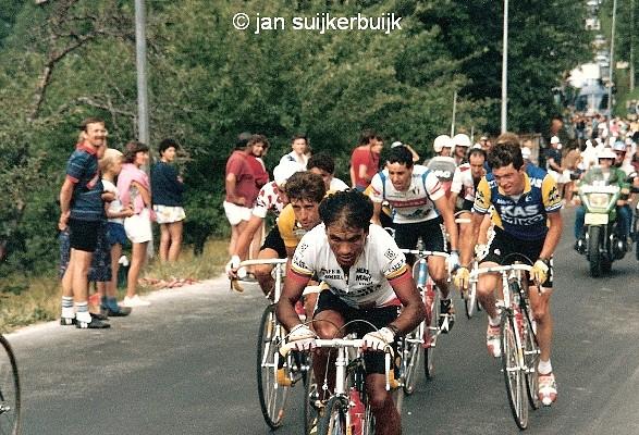 Perico-Tour1987-La Plagne-Roche2
