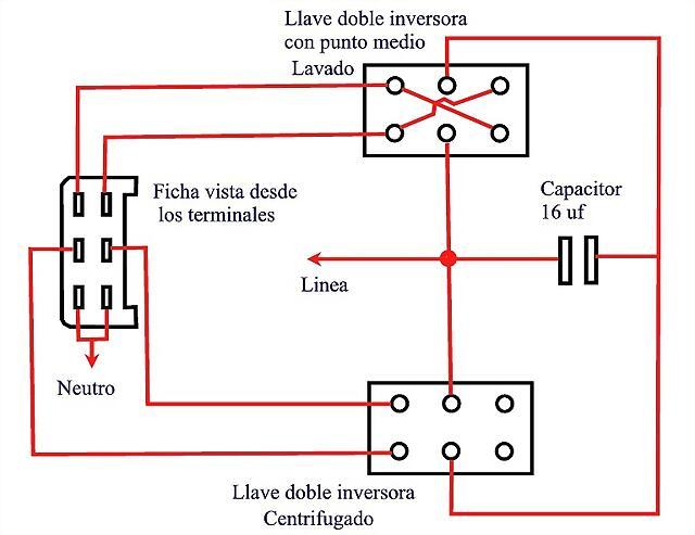 Circuito+simulador+de+lavarropas