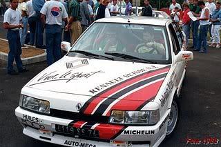 Renault 21 Turbo Gr N 1988 Cpto Frances Mont Blanc Ferreux NARANJA