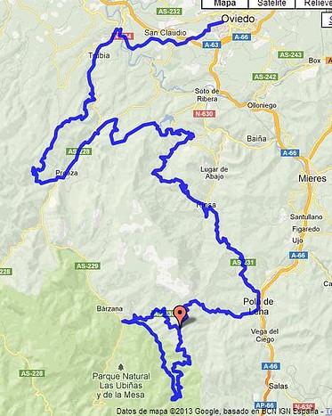 propuesta etapa 14 mapa
