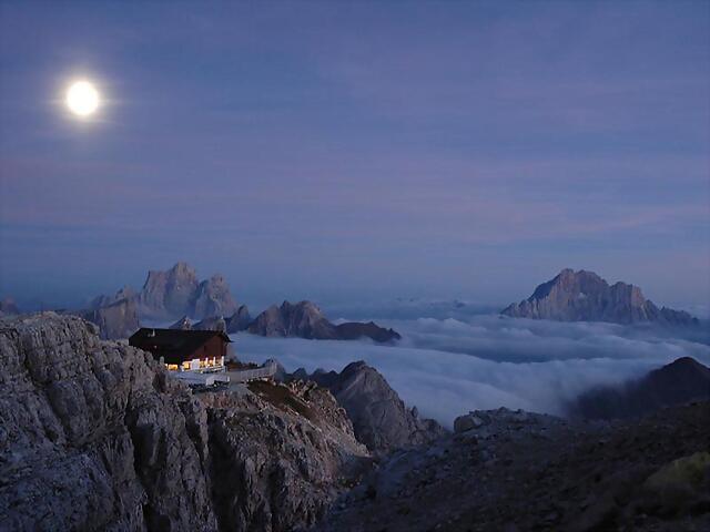 Rifugio Lagazuoi - Dolomitihh