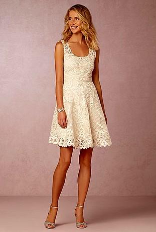 Peinados con Vestidos de novia cortos Pelo Largo Reflejos