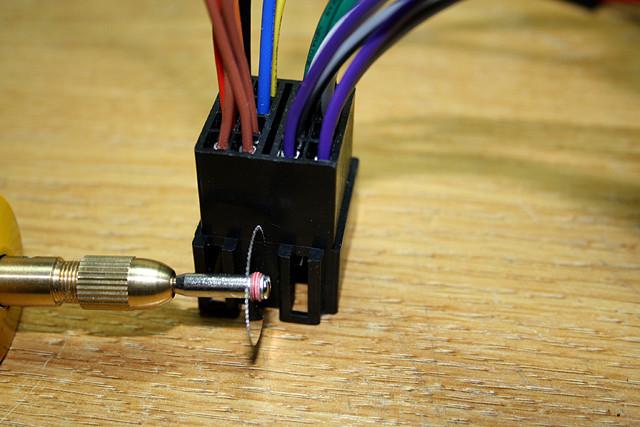 6 cortando conector