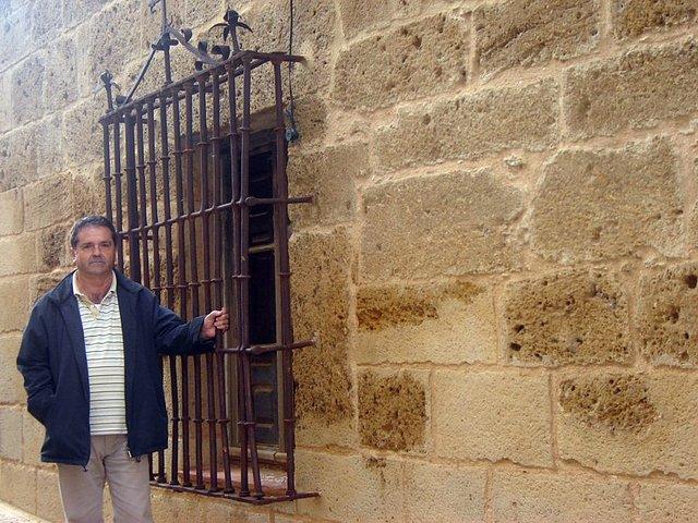 M. Estrada, en Valderas. Foto Justino