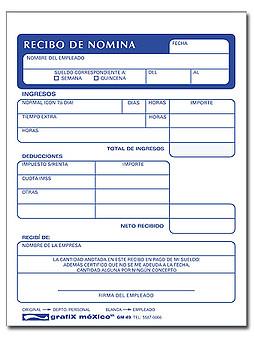 RECBO DE NOMINA