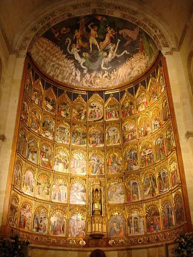 Salamanca retablo
