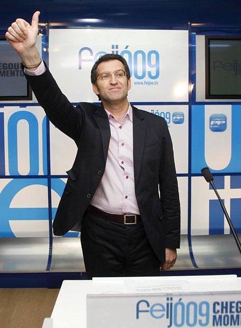 A.  Nuñez Feijóo, nuevo presidente Xunta