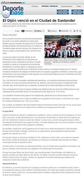 2012.12.19 Torneo Ciudad Santander