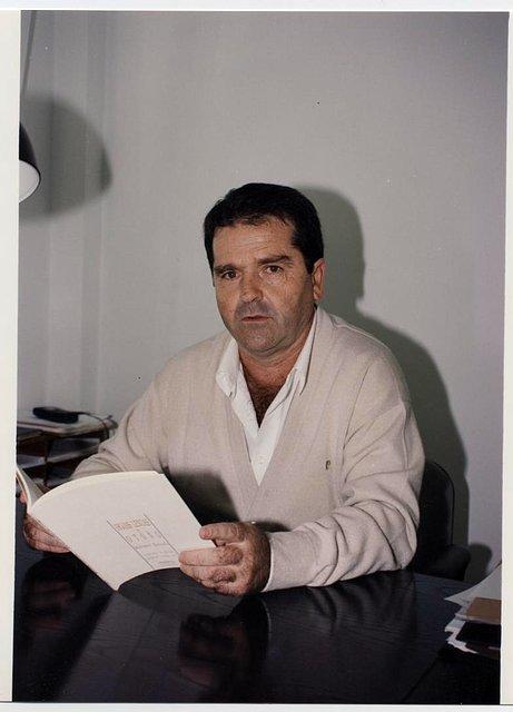 Mariano Estrada, en su despacho