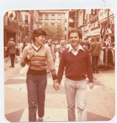Rosa y Mariano, in London 1979