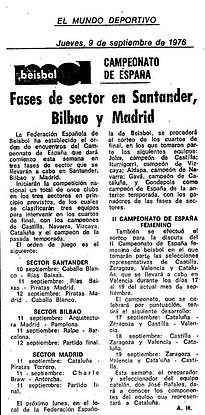 1976.09.09 Cpto. España sénior