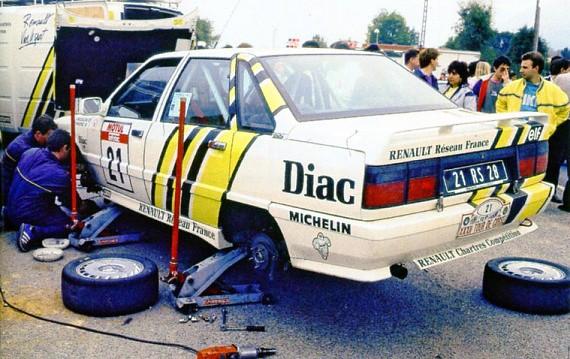 Renault 21 Turbo Gr N 1988 Tour de Corse Bugalsky 00tt