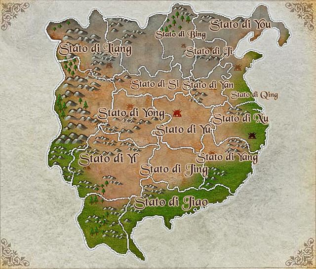 mapa los tres reinos