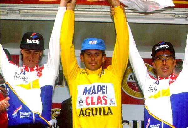 Perico-Vuelta1994-Podio1