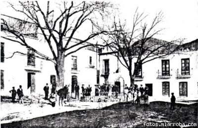 Plaza Nueva principios Siglo XX