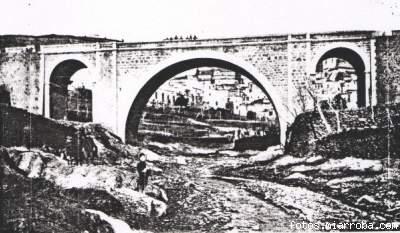Puente Gérgal principios S. XX