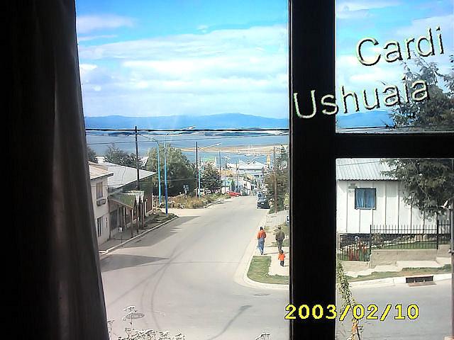 Desde mi ventana en Ushuaia, Tierra del Fuego