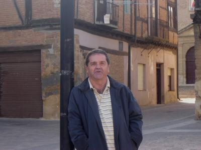 M. Estrada en Valderas (León) Foto Justino Blanco