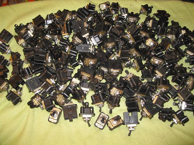 Interruptores para 500, 600,  y otros.