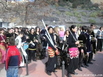 Desfile  Moros y Cristianos Guerrilla  Castillo (1) Gérgal 2006