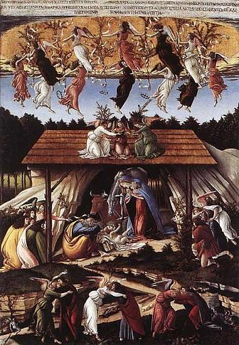 Navidad Mistica - Botticelli