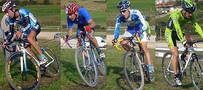 2º al 5º ciclocross Corvera (Asturias)