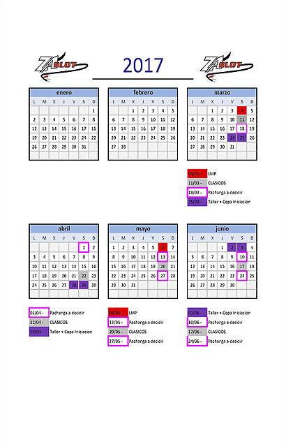 calendario-2017 ZASLOT_con dias debajo
