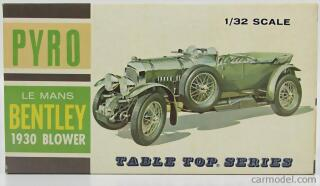 Pyro Bentley Le Mans 1930 Blower