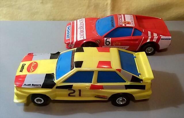 Polistil Audi & Ferrari GTO (1)