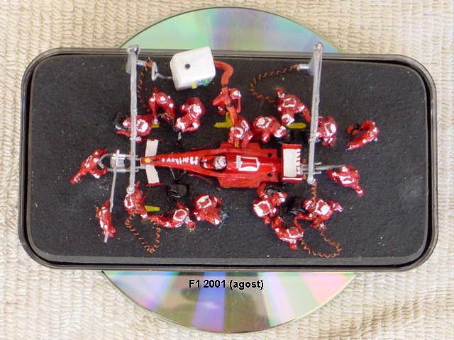Diorama Ferrari F1 2001