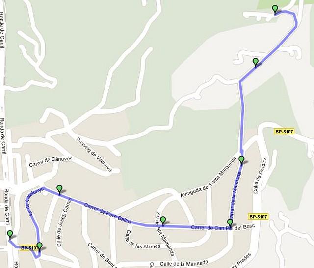 Mapa Urb